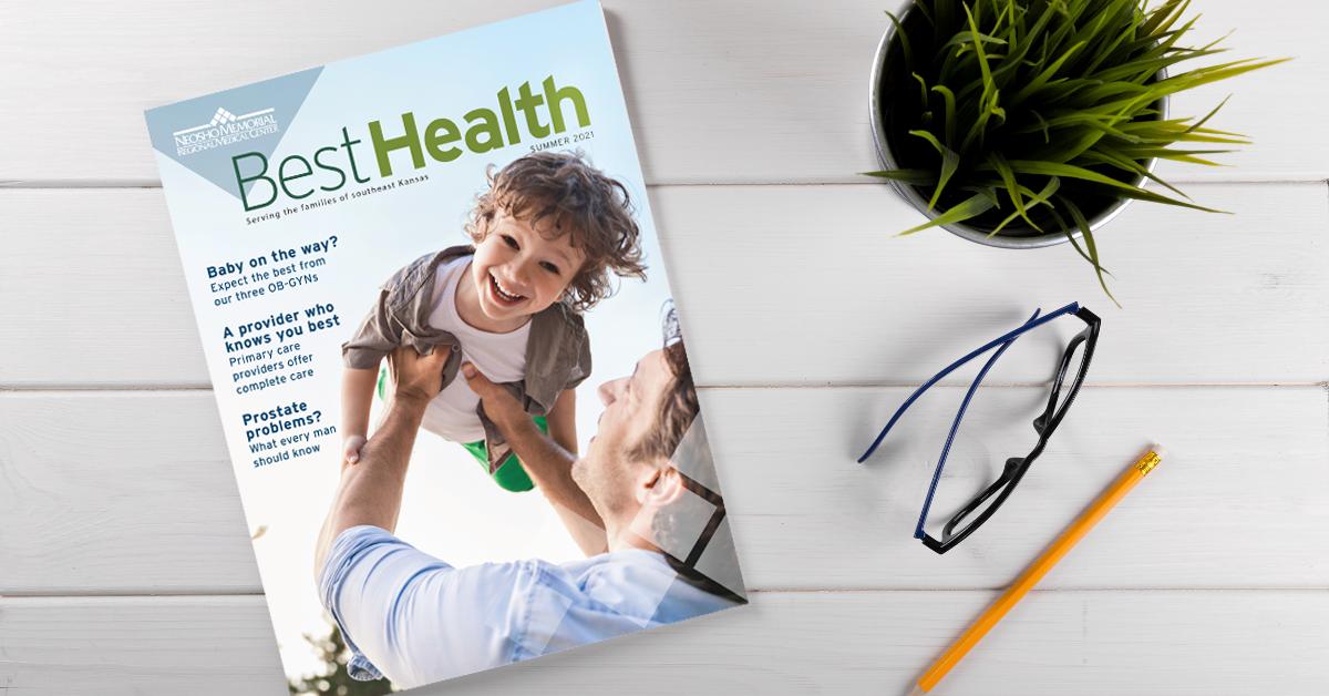 Neosho Memorial Regional Medical newsletter cover